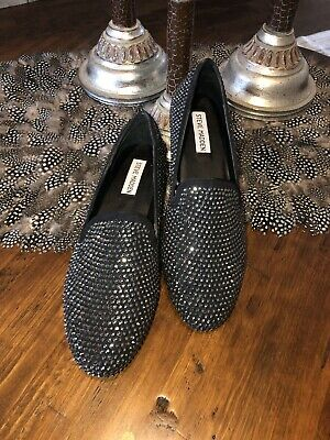 1b0ae03439b STEVE MADDEN CONNCORD Slip On Loafers Multi Color Ladies Sz 10 ...