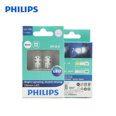 GENUINE PHILIPS T16 W16W Ultinon LED White 6000k 1 Bulb Signaling