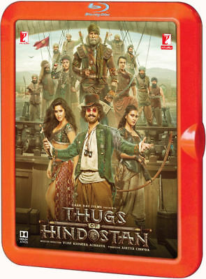 Thugs Of Hindostan (Aamir Khan, Amitabh Bachchan) - Bollywood 2 Disc Blu-Ray