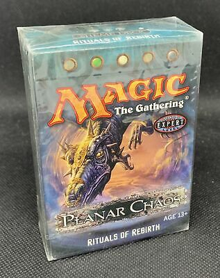 Magic The Gathering Planar Chaos Ritual of Rebirth Factory Sealed Theme Deck QTY