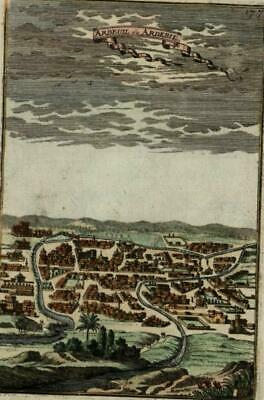 Ardabil Persia Azerbaijan Iran Middle East 1683 Mallet prospect city view