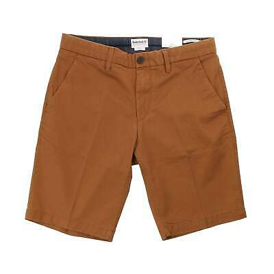 Timberland Squam Lake Stretch Twill Chino Shorts - Rubber