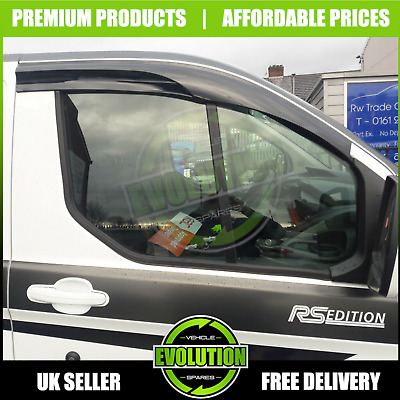 Ford Transit Custom Wind Deflectors Rain Smoke 2013 - 2019