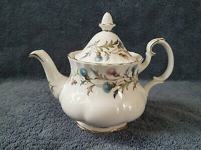Small 1.1/4 Pint Royal Albert Brigadoon Tea Pot.