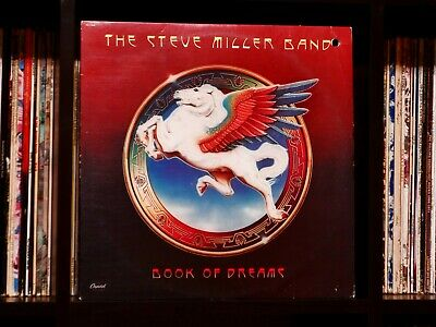 Steve Miller Band ♫ Book of Dreams ♫ 1977 Mastered by Capitol Near Mint Vinyl LP