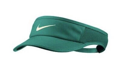 a40777cd3 NIKE WOMEN'S AEROBILL Featherlight Tennis Visor 899656 838 Guava Ice ...