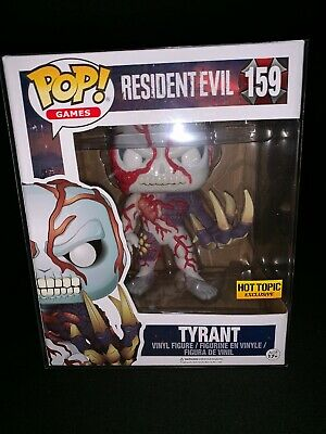 Funko Pop! Games Resident Evil Tyrant #159 Hot Topic Exclusive. W/ PROTECTOR