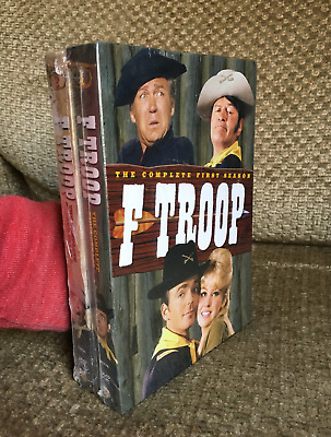 F-TROOP Complete Series! ~ First & Second Season 1 & 2 ~ NEW 12-DISC DVD SET
