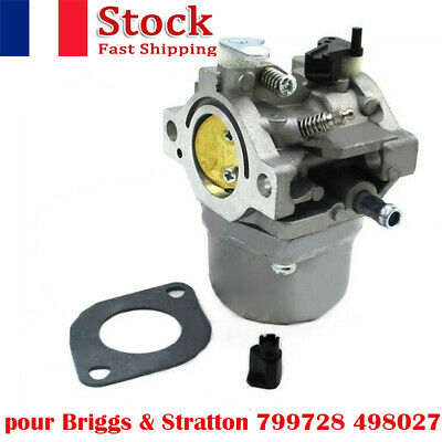 CARBURATEUR carburateur + joint pour BRIGGS & STRATTON 498027 799728 498231 CARB
