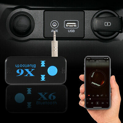 NFC 3 5MM AUX Music Stereo Car Audio Receiver Adapter Hands