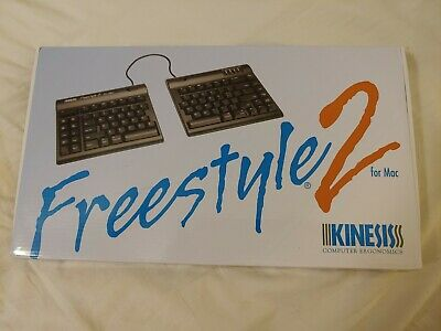 6fb3d9e655a Kinesis Freestyle2 Ergonomic Keyboard for Mac, KB800HMBUS, NIB + FREE  Shipping