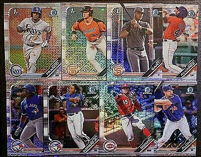 YOU FINISH SET!! PICK!! * * 2019 Bowman Chrome * * MEGA MOJO ROOKIE REFRACTOR SP