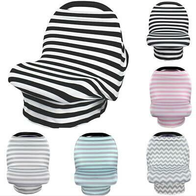 Stretchy Baby Nursing Breastfeeding Stroller Car Seat Cover Canopy Carrying Case