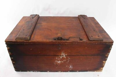Antique Pine Wood Trunk Toy Chest