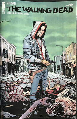 Image Comics The Walking Dead #192 1St Print Signed By Charlie Adlard