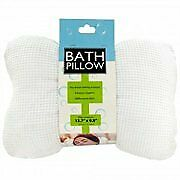 Soft Cloth Bath Pillow with Suction Cups
