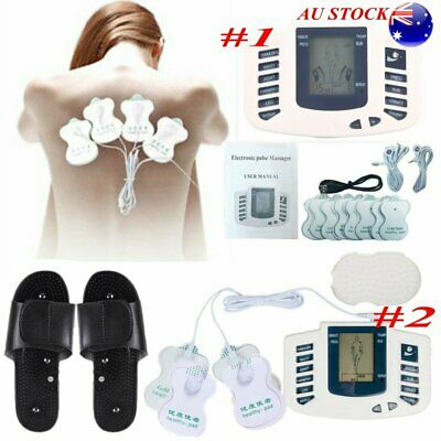 Electrical Muscle Massager Stimulator Pulse Therapy  Acupuncture Full Body Relax