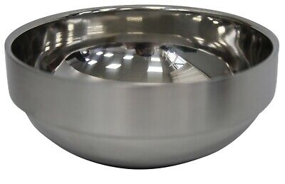 Stainless Steel Double Walled Bowl Soup Bowl Rice Bowl Salad or Ice Cream Bowl