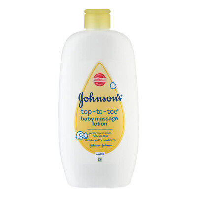 Johnsons Baby Massage Lotion 500ml Head To Toe Gently Moisturises Delicate Skin