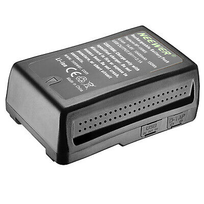 Neewer NW-150WS 14.4V 10400mAh Li-ion Battery for Broadcast Video Camcorder