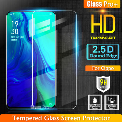 GLASS PRO+ Full Cover Tempered Glass Screen Protector For Oppo Reno 5G |10X Zoom