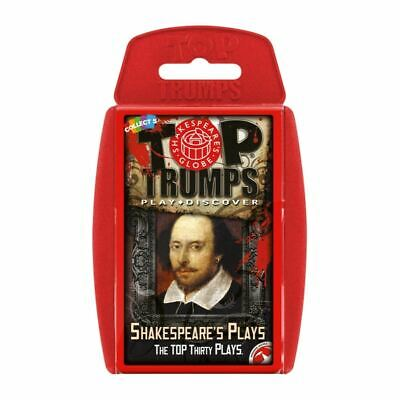 Top Trumps Educational Fun Card Game - SHAKESPEARE'S PLAYS