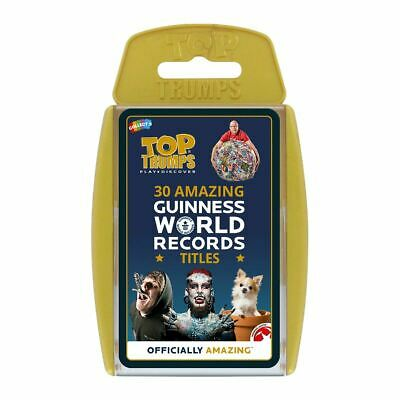 Top Trumps Educational Fun Card Game - GUINNESS WORLD RECORDS
