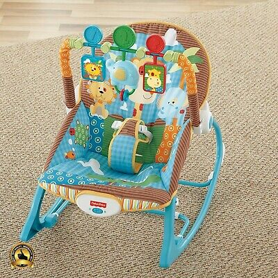 Fisher Price Infant Toddler Rocker Baby Sleeper Bouncer Seat Swing Chair Child