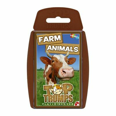 Top Trumps Educational Fun Card Game - FARM ANIMALS