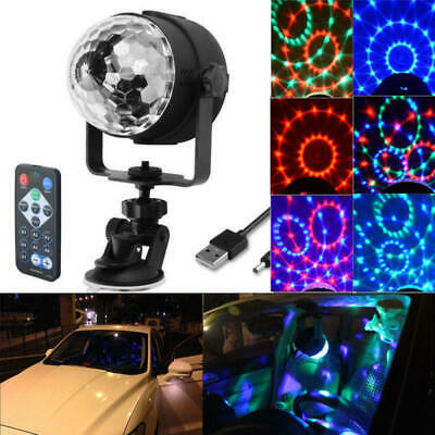 Disco Party DJ LED RGB Stage Effect Light Lamp Laser Crystal Magic Ball IUT