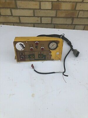 Compair Holman  Air Compressor Control Panel H37 C42 Etc With Some Wiring