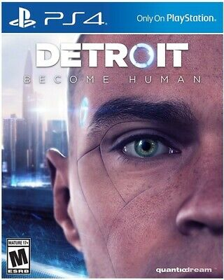 Detroit: Become Humanfor PlayStation 4 [New Video Game] PS 4