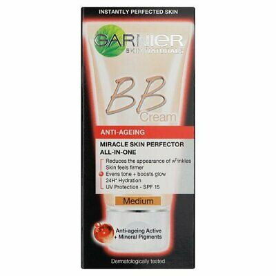 Garnier BB Cream Anti Ageing Medium Tinted Moisturiser 50ml