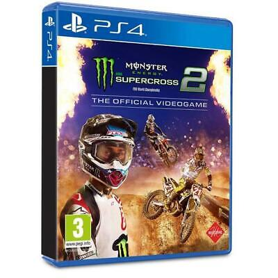 Monster Energy Supercross The Official Videogame 2 PS4 Playstation 4