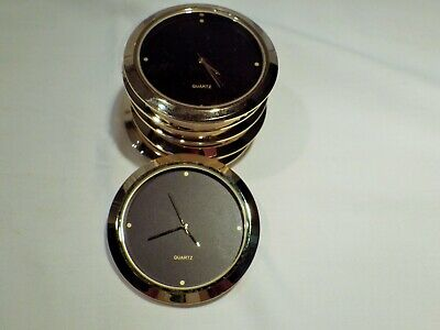 Lot Ofsix Clock Movements  2 Inch 50 Mm Fit Up  Insert