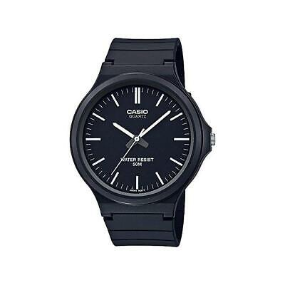 Casio Collection Men Orologio Analogico Da Uomo Nero Mw-240-1evef