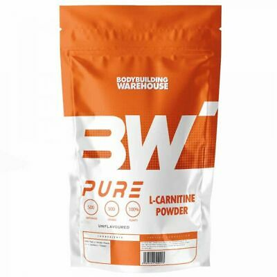 Pure L-Carnitine Powder - 100g | 250g | 500g | 1kg 100% L-Carnitine Supplement