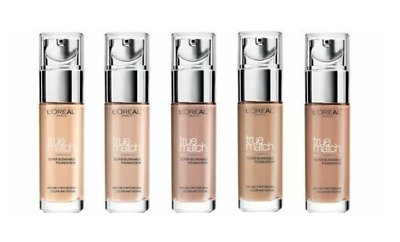 Loreal True Match Super-Blendable Foundation Perfectly Matches Skin Colour *New