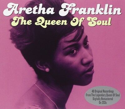 Aretha Franklin - Queen Of Soul 2 Cd New