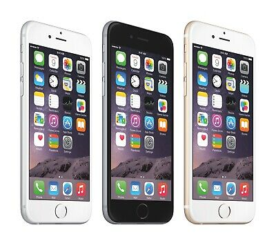 Apple iPhone 6 16/64/128GB Gray - Gold - Silver ( AT&T / Cricket / H2O )