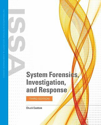 System Forensics, Investigation, And Response Information Systems Security  As