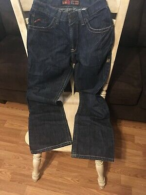 1320d940ad7 1012555 Men's Ariat M4 FR Jeans 31x30 Fire-Resistant Low Rise Boot Cut  105037