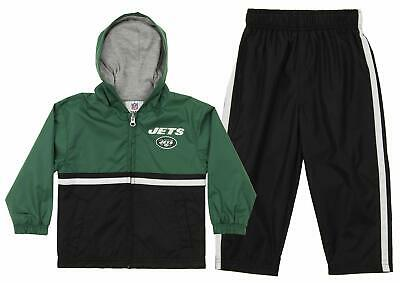 Outerstuff NFL New York Jets Infant and Toddler Windsuit Set