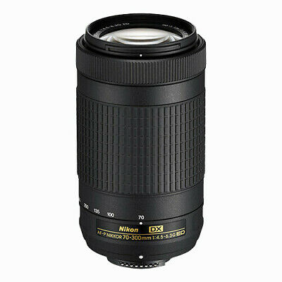 Nikon AF-P DX NIKKOR 70-300mm f/4.5-6.3G ED Lens for Select Nikon DSLR Cameras