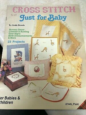 Cross Stitch, Just for Baby