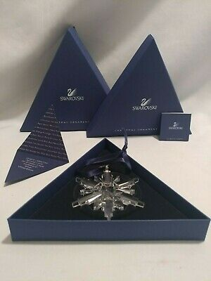 Swarovski Crystal Limited Edition 2006 Annual Issue Snowflake Christmas Ornament