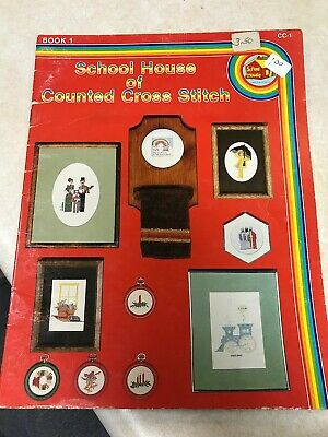 School House of Counted Cross Stitch, Book 1