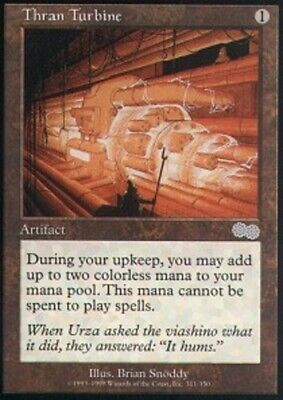 MTG magic cards 1x x1 Light Play, English Thran Turbine Urza's Saga