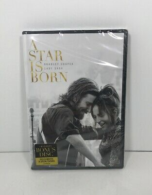 A STAR IS BORN 2019 DVD WS Lady Gaga Bradley Cooper (Brand New) *Free shipping*