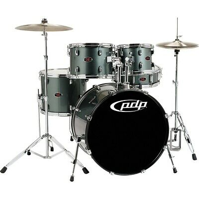 PDP by DW Z5 5-Piece Shell Pack Grey Metal